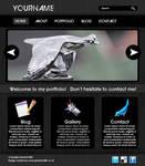 Portfolio Website PSD