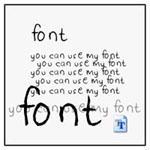 fontez.... my font by t1tus