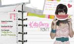 Katy Perry Font by SecretiveWishesx