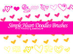 Simple Heart Brushes