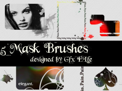 Mask Brushes 3 by gfx-elfe