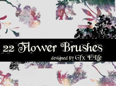 Flower Brushes by gfx-elfe