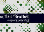 Dot brushes