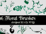 Floral Brushes No 2