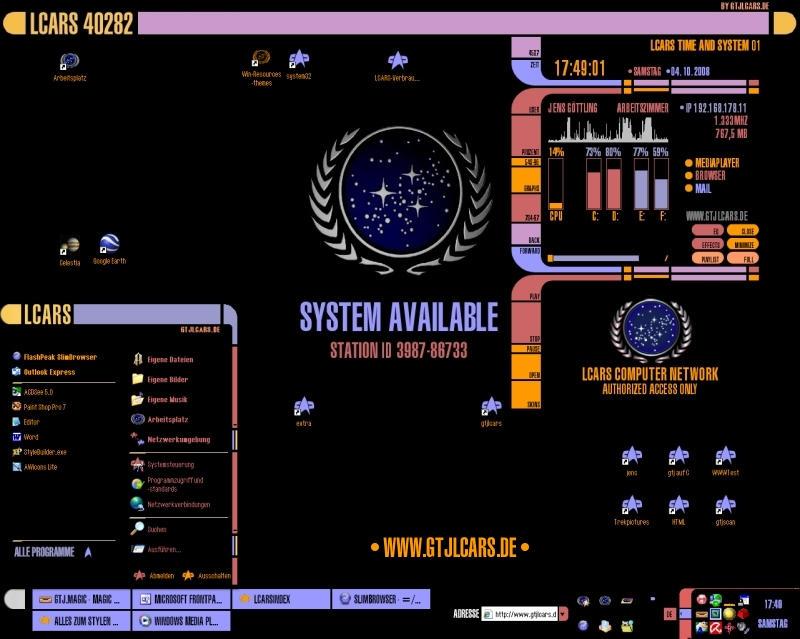 Star Trek Computer Themes – Fondos de Pantalla