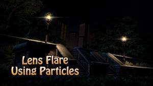 Lens Flare Particle v1.0 [SFM Resource]
