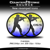 Counter-Strike: Source | New revamped icons