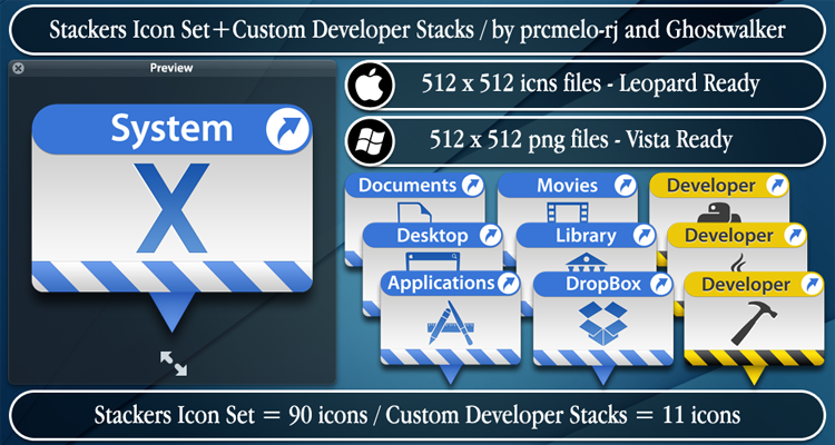 Stackers+Custom Developer by prcmelo