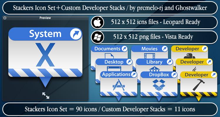 Stackers+Custom Developer by prcmelo