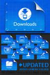Snow Leopard Blueprint Folders by prcmelo
