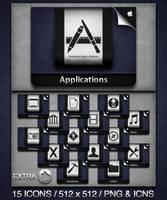 iCloud Inspired Folders by prcmelo