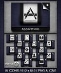 iCloud Inspired Folders