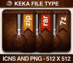 Keka File Type Icons
