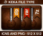 Keka File Type Icons