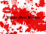 Bloody Mess Brushes