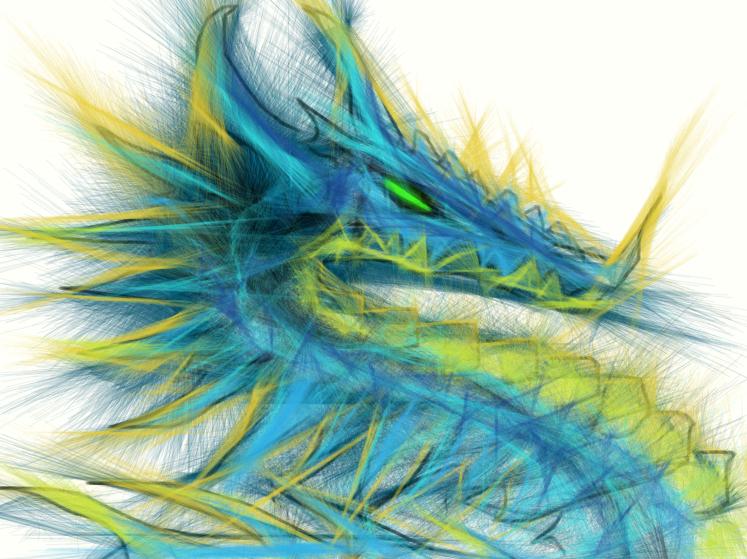 dragon by Seitira