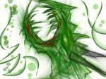 Zombie green dragon