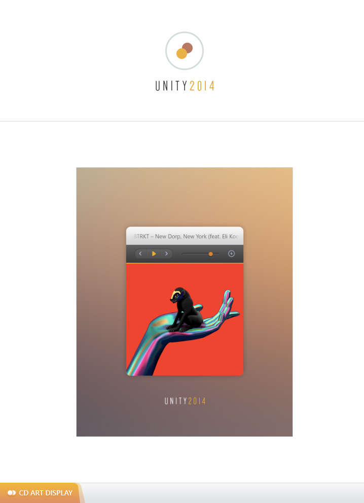 UNITY 2014 | CD ART DISPLAY by calebwye