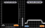 Sega Megadrive Box Art Template Black - Brazil
