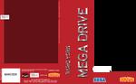 Sega Megadrive Box Art Template Red - Brazil