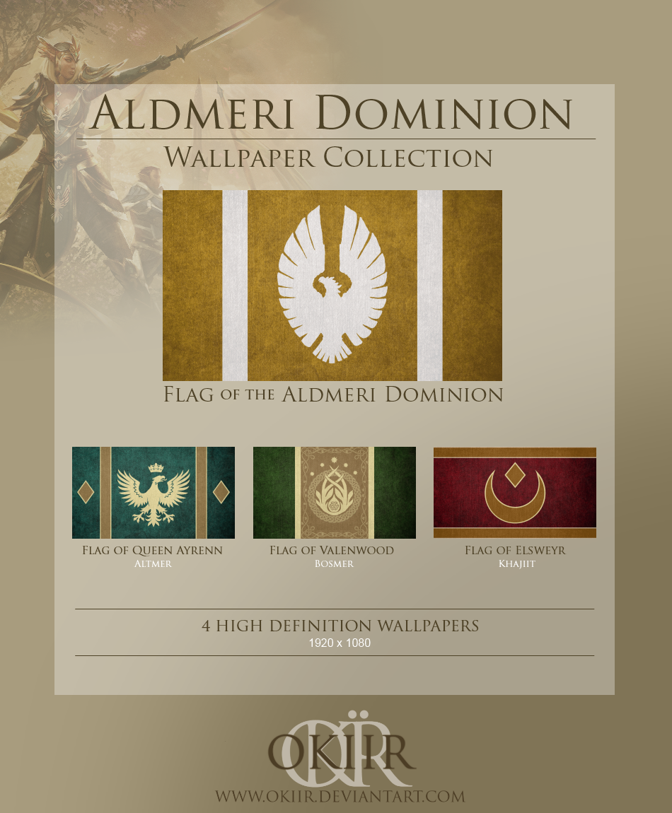 The Elder Scrolls Aldmeri Dominion Collection By Okiir On