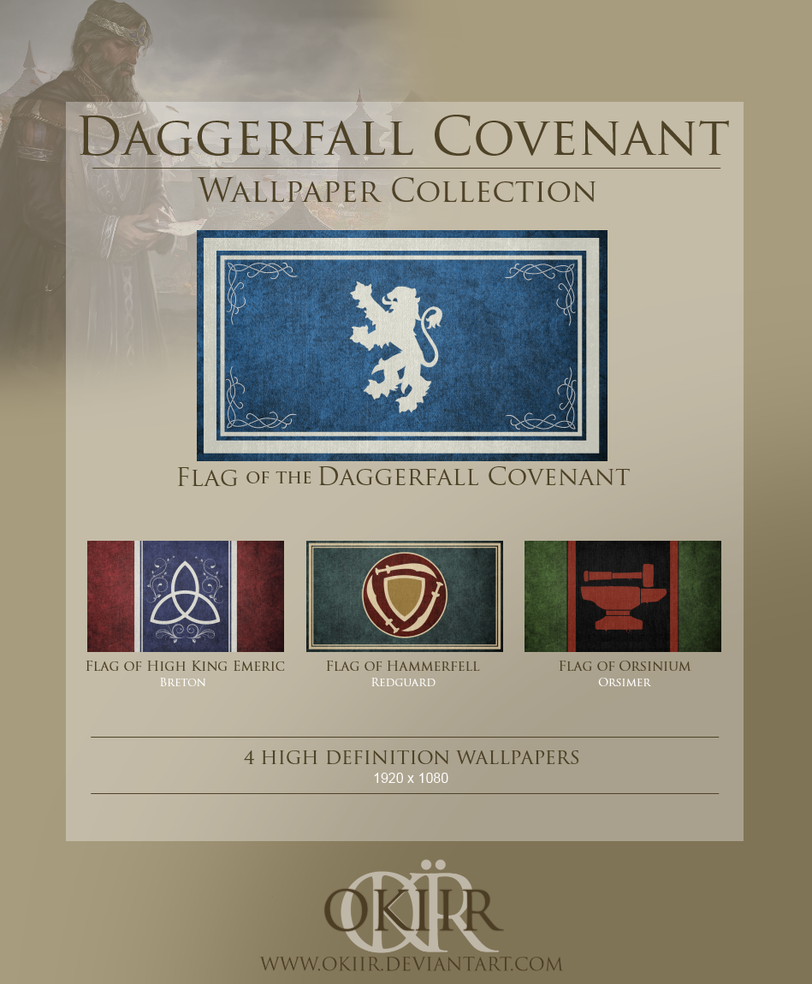 The Elder Scrolls: Daggerfall Covenant Collection by okiir