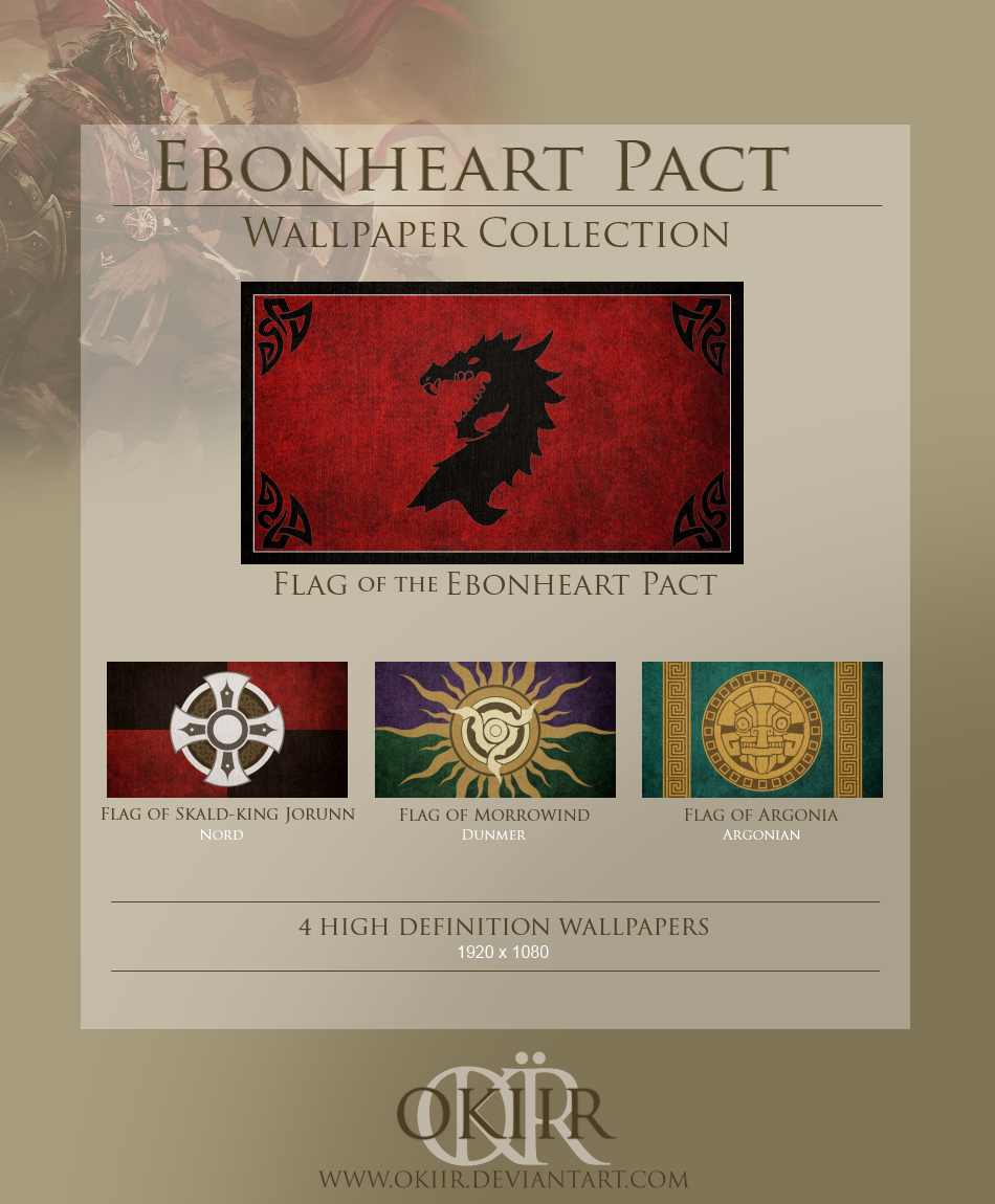 The Elder Scrolls  Ebonheart Pact Collection by okiirElder Scrolls Online Ebonheart Pact