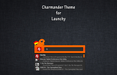 Charmander Launchy
