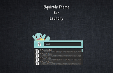 Squirtle Launchy