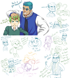 Monsters University Sketch Dump