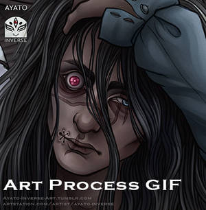 Art Process GIF for: The Doll Maker - Wallpaper