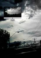 Gray Sky Wallpaper by Aurrum