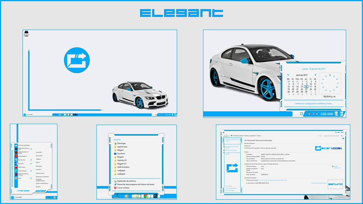 Elegan theme for Win7/8.1