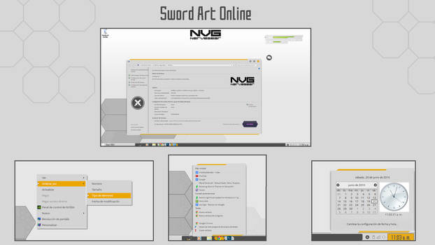 Tema SAO Para Windows 10 Rs1 (Anniversary Update) by Black10081