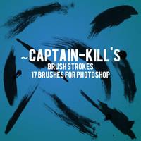 Paint Brush Strokes for PS by captain-kill