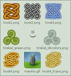 Celtic avatars set by mossy-tree