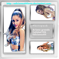 Photopack de ari grande by TheFantasyOfMyDream