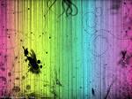 Really Messy Rainbow Wallpaper