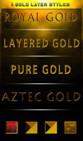 4 Gold styles -FREE-