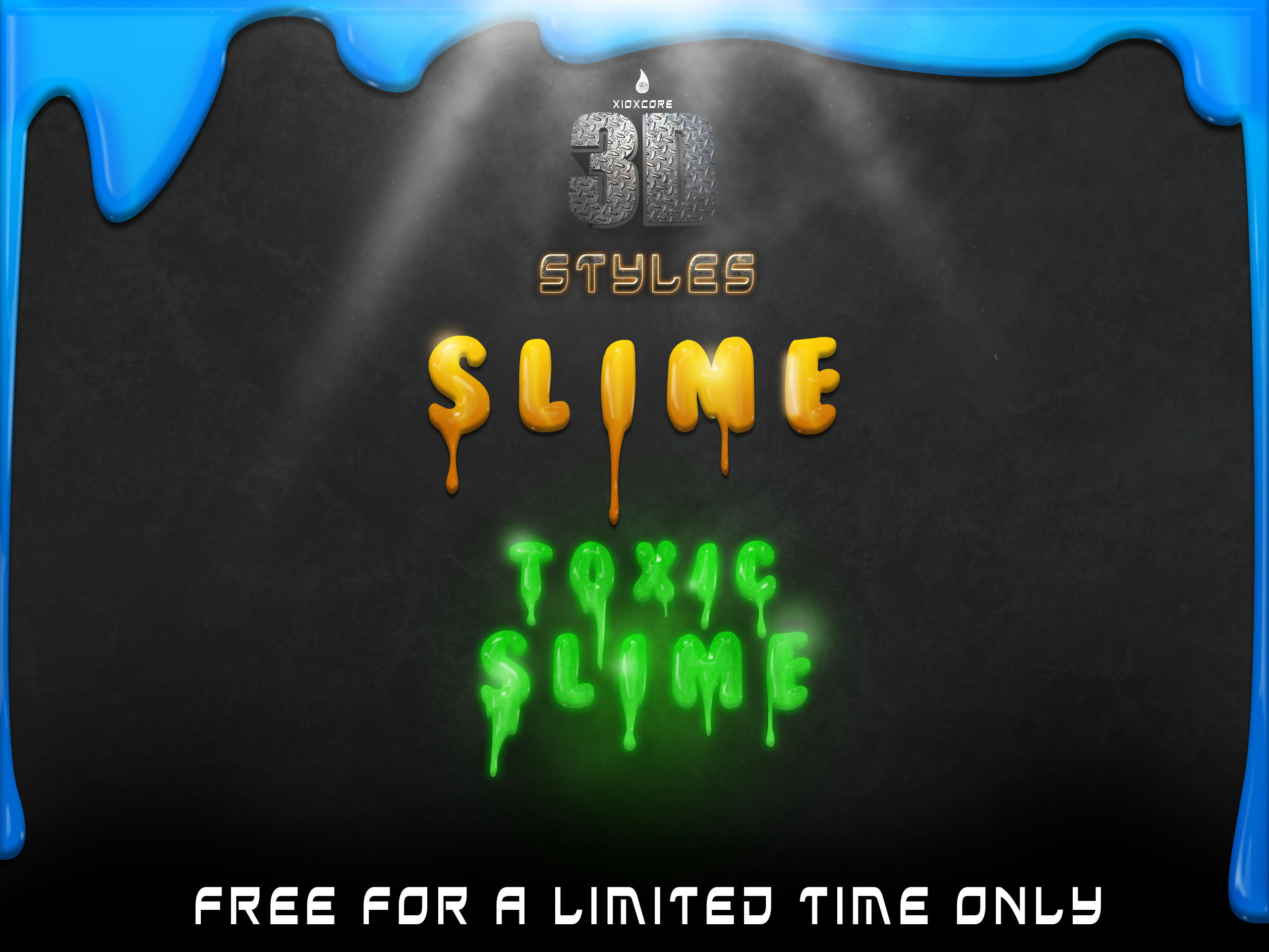 3D Slime Styles -FREE- by Xiox231