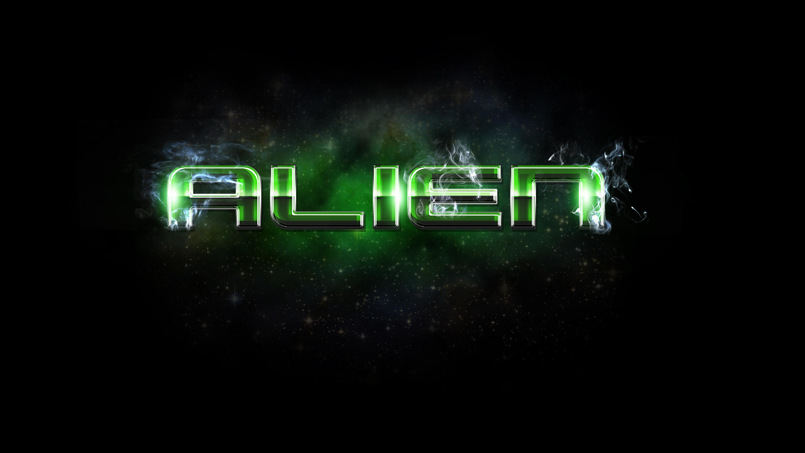 Free gold text effect photoshop tutorial by survivorcz on deviantart alien style free by xiox231 baditri Image collections