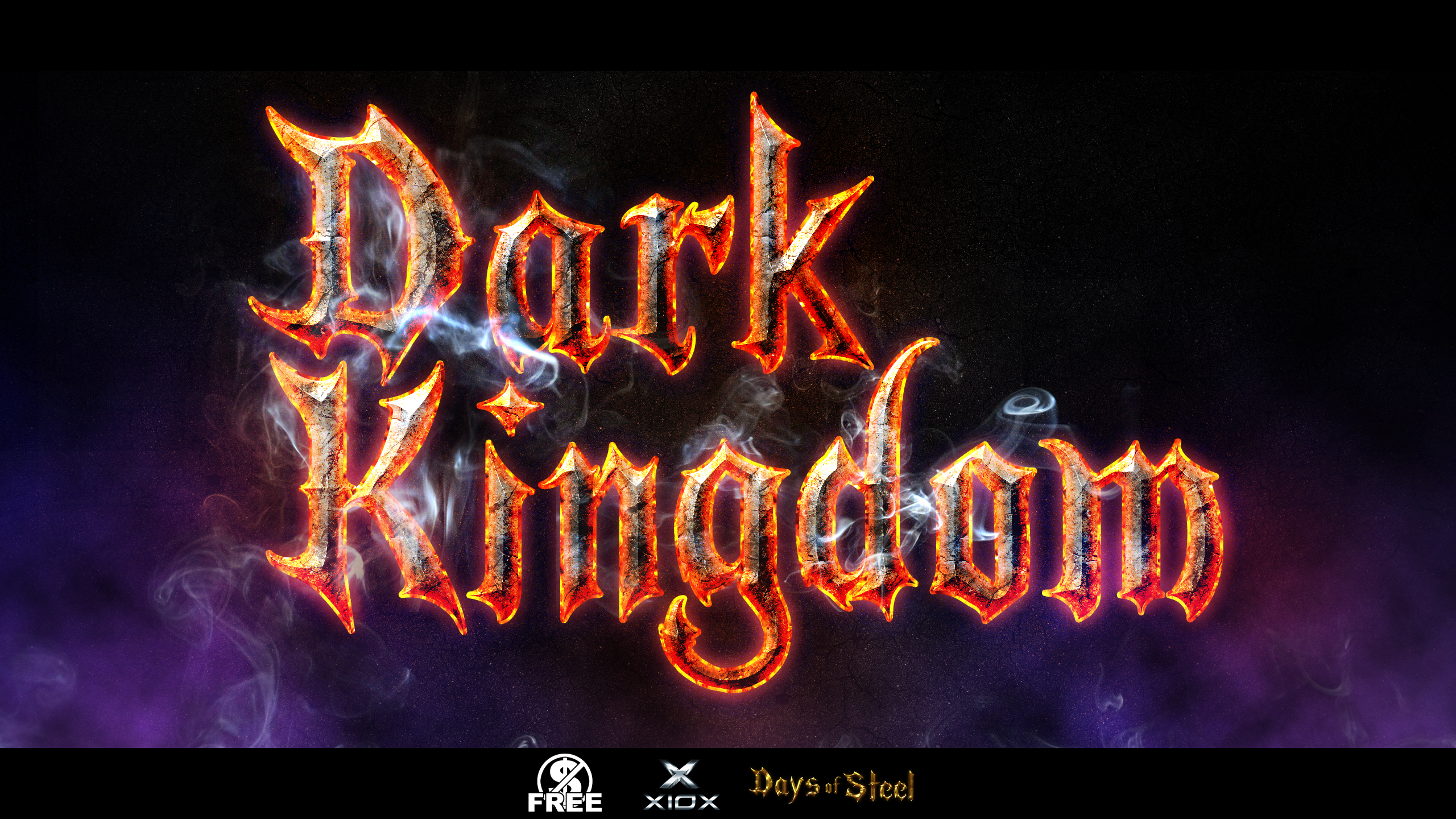 Dark Kingdom Free Fantasy Photoshop Text Effect