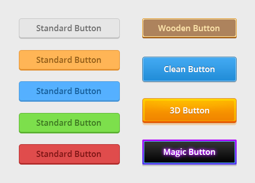 Dynamic Web Buttons -FREE- by Xiox231