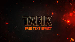 Tank Text Effect -FREE-