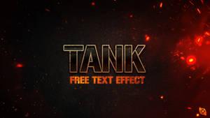 Tank Text Effect -FREE-