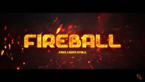 Fireball Layer Style -FREE-