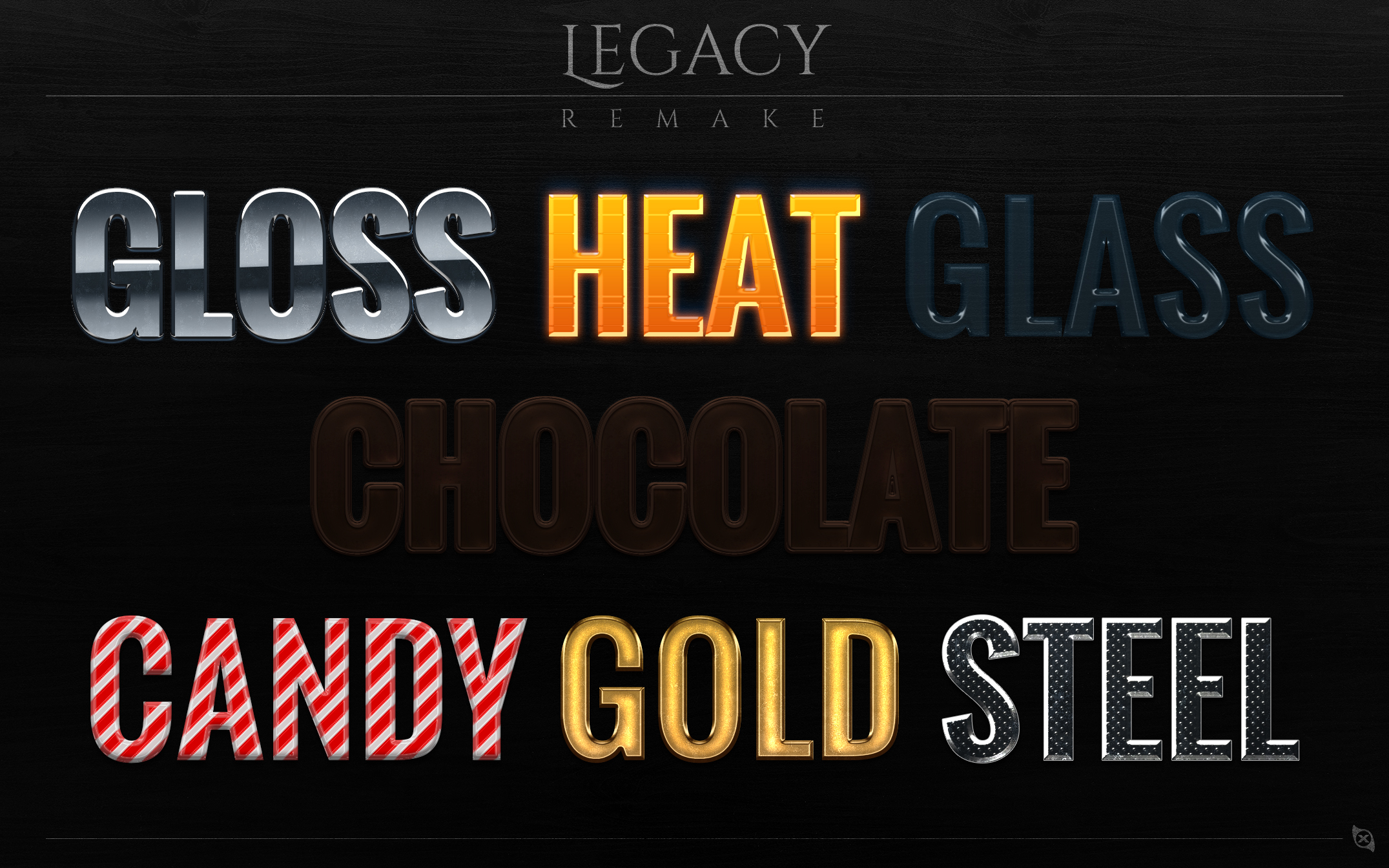 Xiox Legacy Remake Styles - FREE -