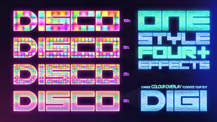 Disco Style - FREE - by XioxGraphix
