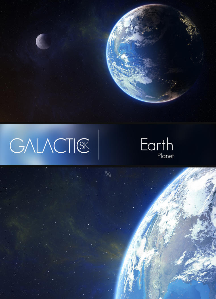 Earth - WALLPAPER - by Xiox231