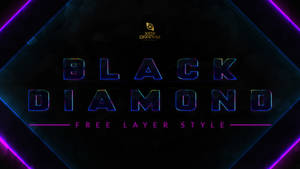 Black Diamond Layer Style -FREE-